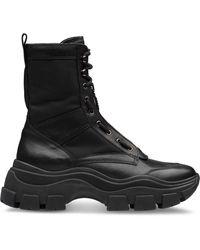 Prada チャンキーソール ブーツ - ブラック