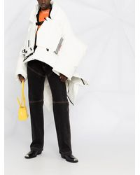 Canada Goose Укороченная Куртка Snow Mantra Из Коллаборации С Angel Chen - Белый