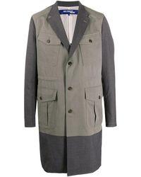 Junya Watanabe フラップポケット コート - グレー