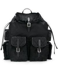 Prada - All Designer Products - Drawstring Backpack - Lyst