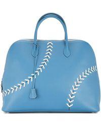 Hermès プレオウンドsac Bolide Baseball ハンドバッグ - ブルー