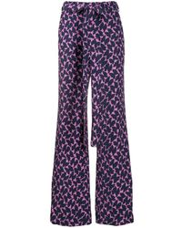 LaDoubleJ - Pantalon ample imprimé - Lyst