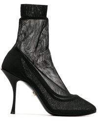 Dolce & Gabbana - Escarpins en mesh - Lyst