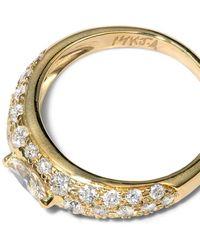Jacquie Aiche ダイヤモンド リング 14kゴールド - メタリック