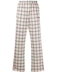 Fila Pantalon de jogging à carreaux - Multicolore