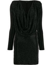 Philipp Plein ビジュー ドレス - ブラック
