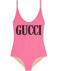 buy online 73274 02179 Costume intero stampato - Rosa