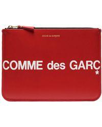 Comme des Garçons - Клатч С Логотипом - Lyst