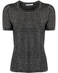 T By Alexander Wang - メタリックセーター - Lyst
