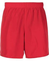 EA7 Плавки-шорты С Логотипом - Красный