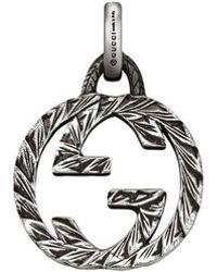 """Gucci - Anhänger mit """"GG""""-Logo - Lyst"""