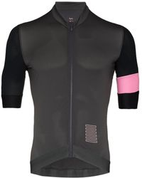 Rapha Fitted Zip-up Compression Top - Grey