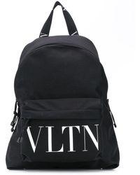 Valentino Vltn バックパック - ブラック