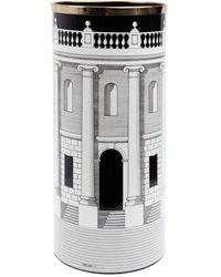 "Fornasetti ""Casa con colonne"" Porte-parapluies - Blanc"