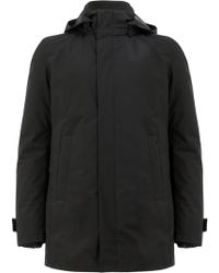 Herno - Short Hooded Coat - Lyst