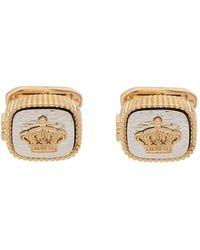 Dolce & Gabbana Crown Mounted Cufflinks - Metallic