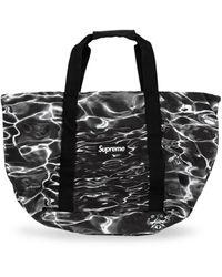 Supreme Ripple Packable Tote - Black