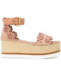 See By Chloé 50mm Platform Sandals - Multicolour