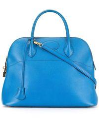 Hermès Bolide 35 2way バッグ - ブルー
