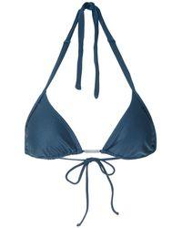 Lygia & Nanny Kuta bikini top - Blau