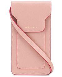 Marni Чехол Для Телефона - Розовый