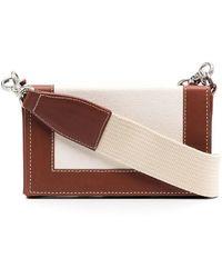AMI Мини-сумка На Плечо Box - Коричневый