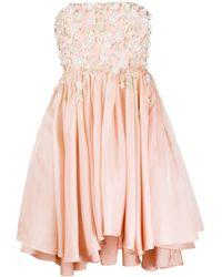 Parlor デコラティブ ドレス - ピンク