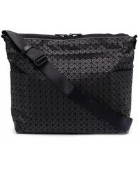Bao Bao Issey Miyake Bolso de hombro con diseño de paneles geométricos - Negro