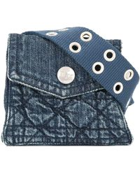 Dior Cintura denim Pre-owned - Blu