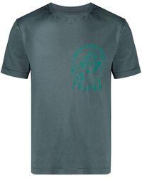 Telfar Camiseta con motivo Not For You - Gris