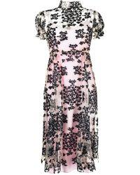 Macgraw Porcelain スパンコール ドレス - ピンク