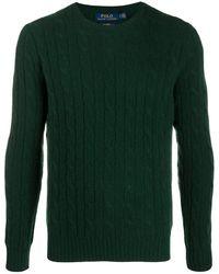 Polo Ralph Lauren - カシミア ケーブルニット セーター - Lyst