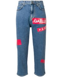 Gaëlle Bonheur - Cropped Jeans - Lyst