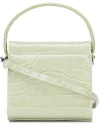 GU_DE Crocodile-embossed Mini Bag - Green