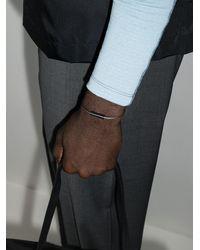 Le Gramme Le 5g Armband mit Keramik-Element - Schwarz
