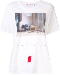 Undercover プリント Tシャツ - ホワイト