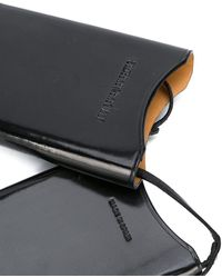 Ann Demeulemeester Smartphone Holder Bag - Black