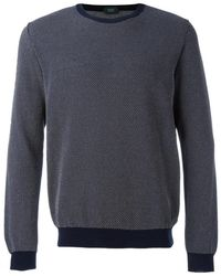 Zanone - Knitted Jumper - Lyst