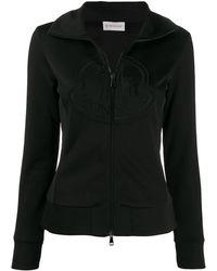 Moncler ジップアップ スウェットシャツ - ブラック
