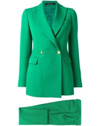 Tagliatore Two-piece Suit - Green