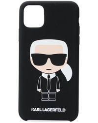 Karl Lagerfeld Karl Iphone11 Pro ケース - ブラック