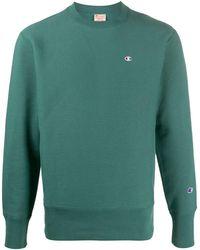 Champion ロゴ セーター - グリーン