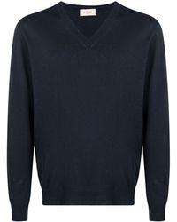 Altea Vネック セーター - ブルー