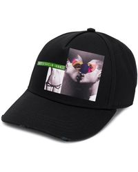 DSquared² Pet Met Print - Zwart