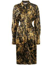 Proenza Schouler - Платье С Прорезями И Принтом - Lyst