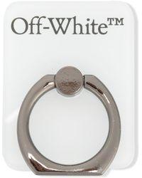 Off-White c/o Virgil Abloh スマホ リング - ホワイト