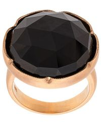 Irene Neuwirth 18kt Rose Gold Black Onyx Ring