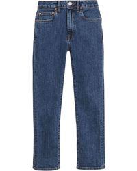 Burberry Japanse Straight Denim Jeans - Blauw