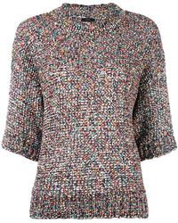 Joseph | Knitted Colours Tweed Top | Lyst