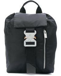1017 ALYX 9SM Рюкзак С Откидным Клапаном - Черный